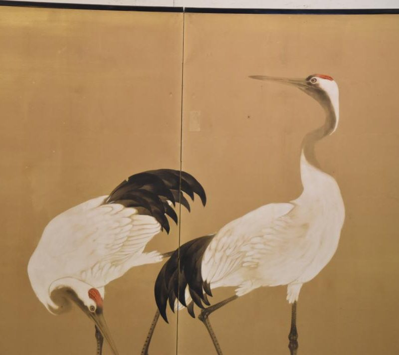 japanese red crested cranes screen 003_1067x712