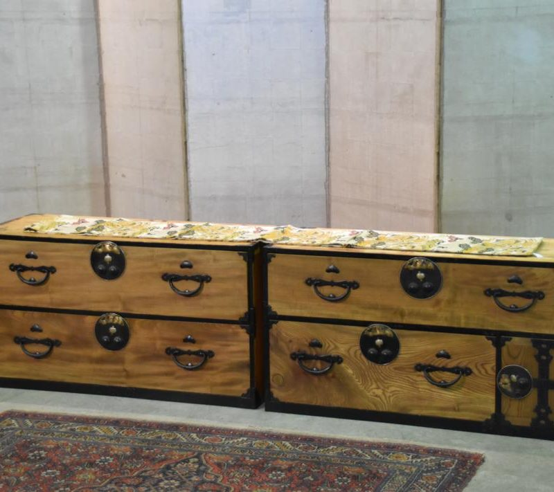 Antique Couches Melbourne: Nihonmatsu Clothing Chest On Chest