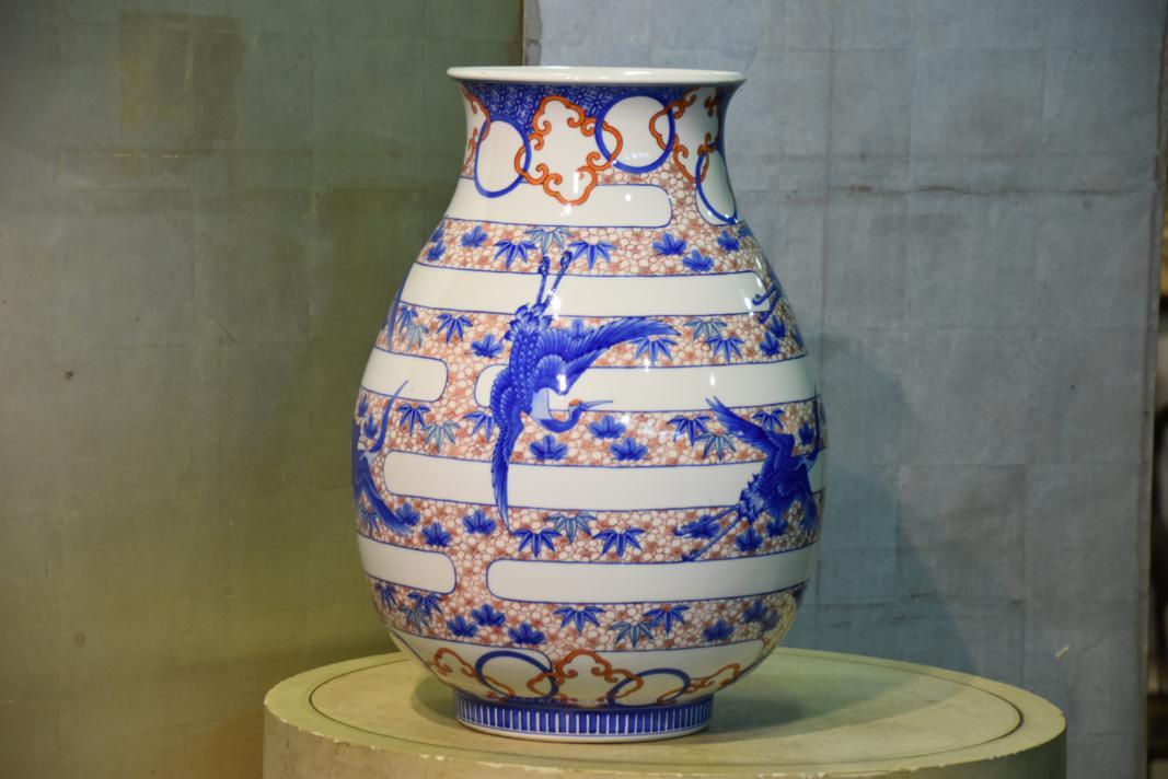 Japanese Porcelain Vase Edo Arts