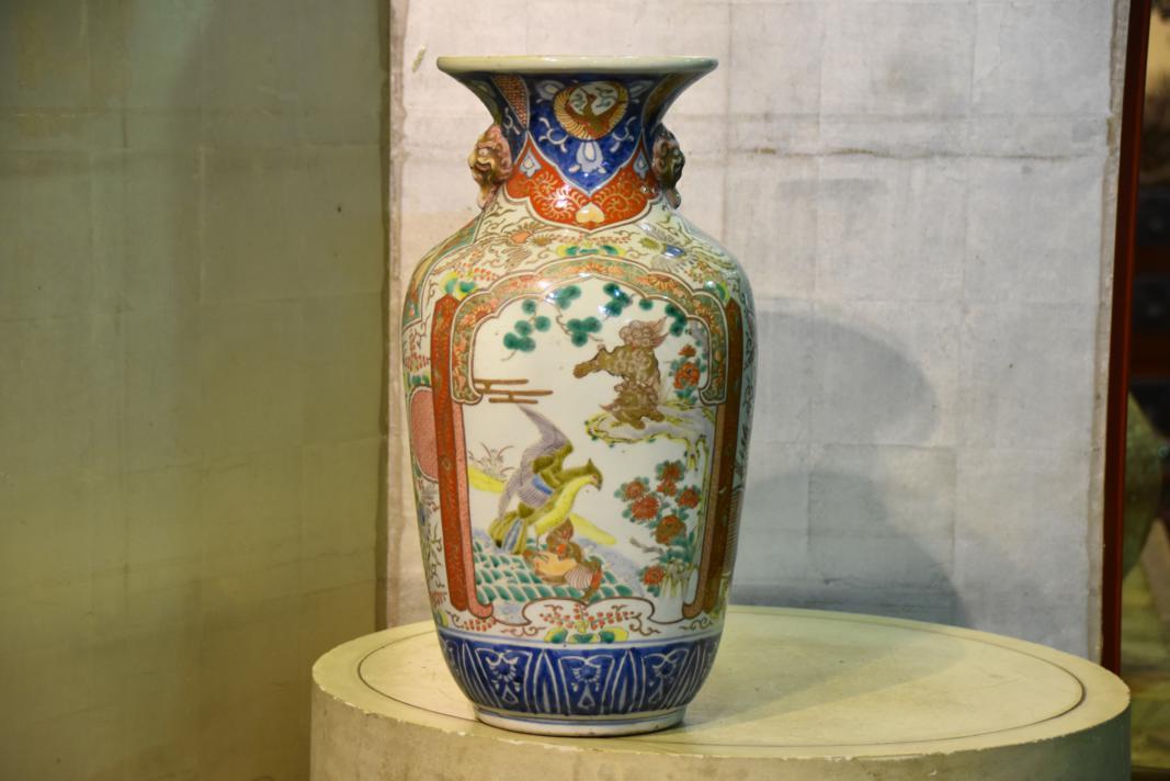 Japanese Imari Vase Edo Arts