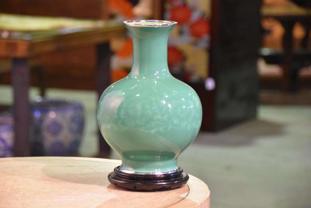 Ando Cloisonne Vase Edo Arts