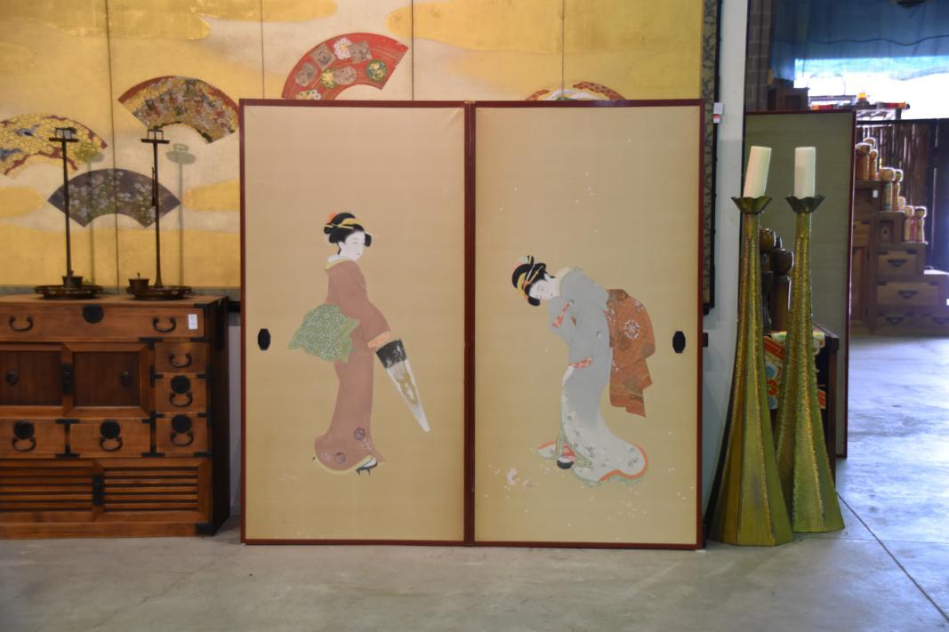 & Japanese Geisha Fusuma Doors u2013 Edo Arts