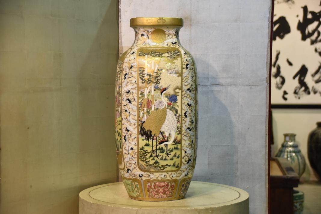 Vase von SatsumaPoliertes Dating frei