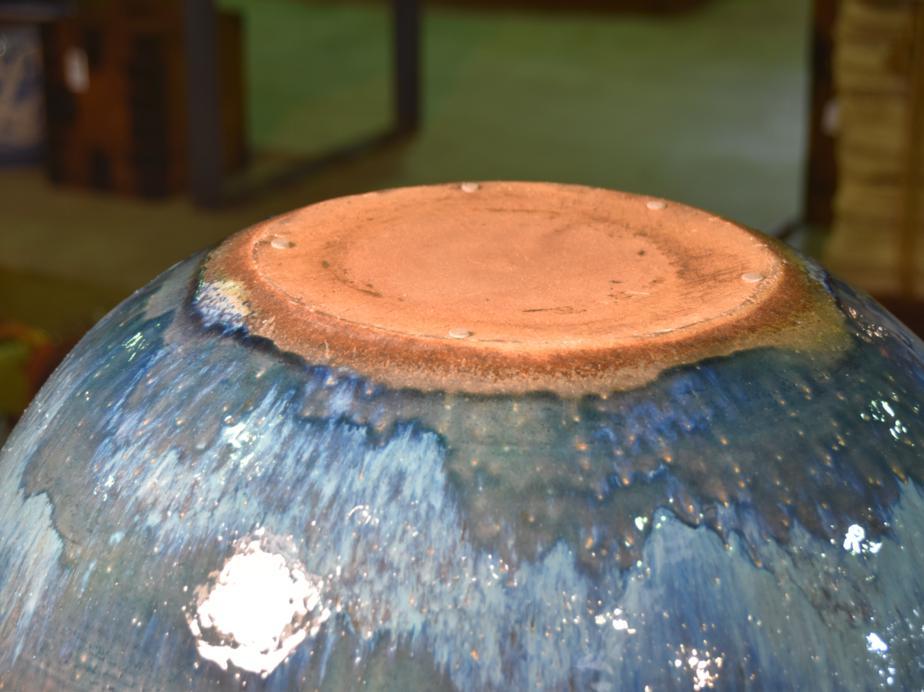 Shigaraki Pottery Garden Water Basin